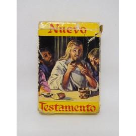 Baraja de Cartas Fournier Nuevo Testamento con caja. Incompleta a falta de una carta.
