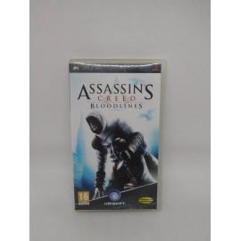Juego PSP Assassins. Incluye instrucciones.