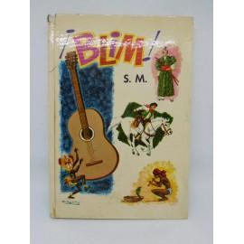 Libro de texto Blim editorial SM. 3º Curso. 1974. Difícil.