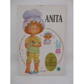 Recortable de Muñeca Anita. Ed. Bruguera. Año 1985. Nuevo