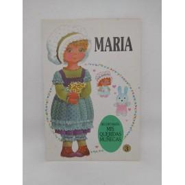 Recortable de Muñeca Lidia. Ed. Bruguera. Año 1985. Nuevo