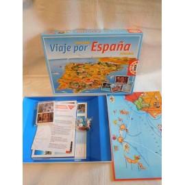 Juego de mesa Viaje por España de Educa. Edición caja azul.