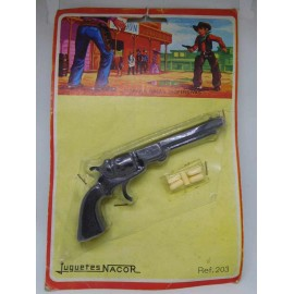 Pistola de balines . Juguetes Nacor. Años 60.