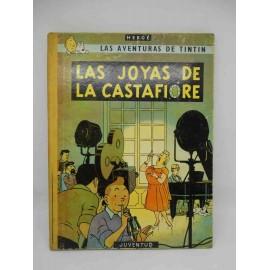 Tebeo Las Joyas de la Castafiore. Tintín. Ed. Juventud. 3ª edición. 1968.