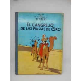 Tebeo El Cangrejo de las Pinzas de Oro. Tintín. Ed. Juventud. 4ª edición. 1971. Catálogo   Productos
