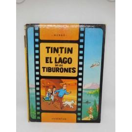 Tebeo Tintín y el Lago de los Tiburones. Tintín. Ed. Juventud. 1ª edición. 1974 Catálogo   Productos