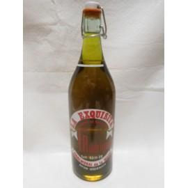 Botella de Gaseosa La Exquisita. Años 60. F Rodriguez. Navalmoral de la Mata.