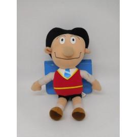 Muñeco de peluche de Zape de Zipi y Zape. Ed. Bruguera. Aprende los números.
