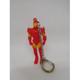 Llavero de Ironman Iron man de Marvel. Años 80.