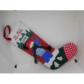 Precioso calcetín Navideño para regalos diseñado por Jean Paul Gaultier.
