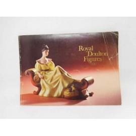 Magnífico catálogo de Royal Doulton Figures. Año 1973. 84 páginas con fotografías.