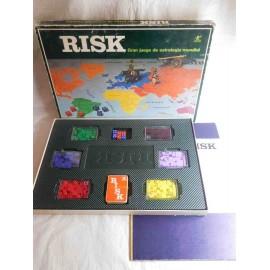 Juego de estrategia Risk de borras antiguo años 70 completo