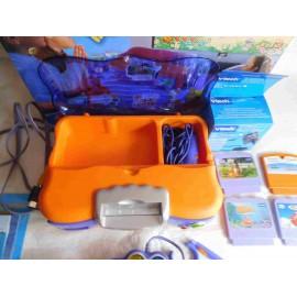 onsola para niños de 3-8 años de Vtech. V. Smile. Para jugar y aprender. Completa.