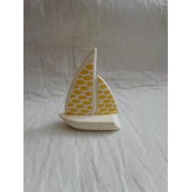 Pieza complemento Pin y Pon años 80. Barco velero.