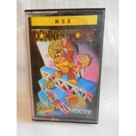 Juego en cinta MSX Donkey Kong. Años 80.