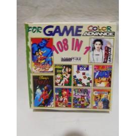 Juegos NINTENDO Color Advance 108 en 1. Años 90. Nuevo.