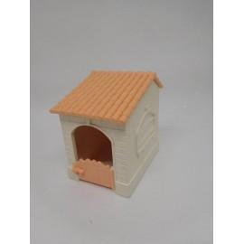 Pieza complemento Pin y Pon años 80. Casita con puerta y tejado. Ver descripción.