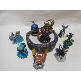 Portal of Power for PLAY STATION 3. Con nueve figuras SKYLANDERS ACTIVISION 2011