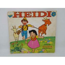 Album de cromos Heidi de Yogures Clesa. 1975. Muy difícil.