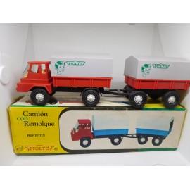 Camión con Remolque Molto. Años 60.