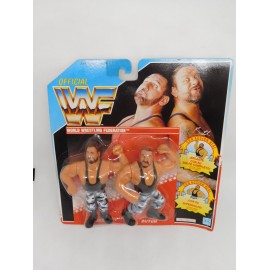 Pressing Catch WWF Los Hermanos Sacamantecas. Blister Doble. Año 1991.