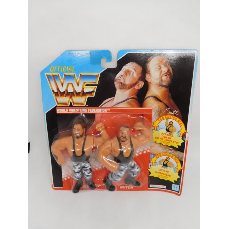 Pressing Catch WWF Rockers. Blister Doble. Año 1991.