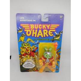 Figura Las Aventuras de Bucky Ohare La Guerra del Universo. Hasbro. 1991.