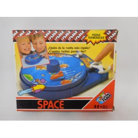 Pistas Diabólicas de Feber. Space. Nuevo. Años 80.