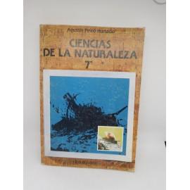 Libro Ciencias de la Naturaleza 7º EGB. Anaya. Sin usar. 1981.