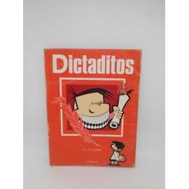 Libro Dictaditos 1º y 2º Curso. A. Pascual. 1974.