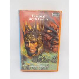 Película Beta de FantaCine Desafío al Rey de Castilla. 1984.