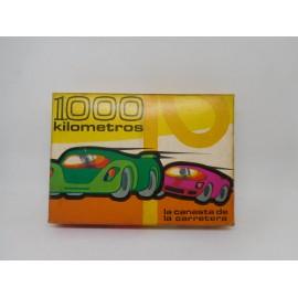 Juego de cartas Fournier año 64 1000 hitos, el juego de los 1000 km. En caja con instrucciones. ref2