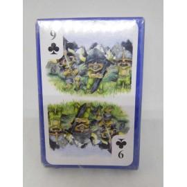 Baraja Poquer Poker Troll. Rara