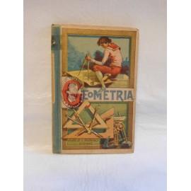 Libro de Geometría. Año 1909. Hijos de S. Rodriguez. Burgos. Original.