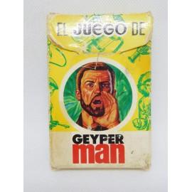 Baraja de cartas en caja Geyperman Ediciones Recreativas. Completas. Años 70.
