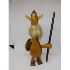 Vikingo en madera Años 50-60 estilo Mid Century.