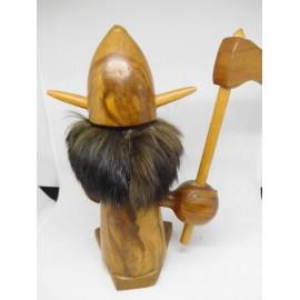 Vikingo en madera Años 50-60 estilo Mid Century. Ref 2