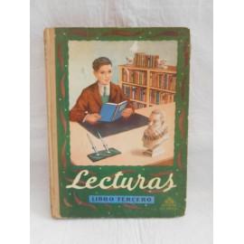 Libro Lecturas Libro Tercero. Luis Vives. 1950.