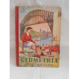 Libro Geometría Primer Grado. Luis Vives. 1949.