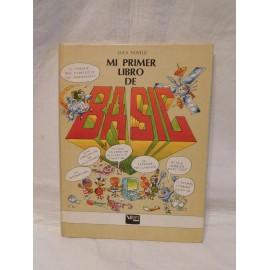 Libro Mi primer libro de Basic. Luca Novelli. Vifi. Anaya. 1985.