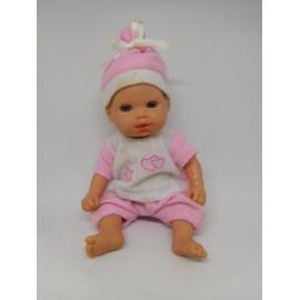 Muñeco bebe, pequeño similar a Barriguitas de Arias.