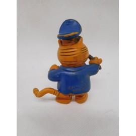 Figura de goma pvc del gato Isidoro. Comic Spain. 1988