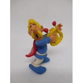Figura de goma pvc serie Asterix Asuranceturix. Comic Spain. 1984