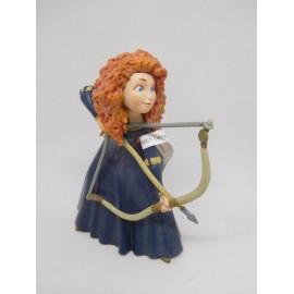 Figura de plástico pvc Brave Disney. Bully.