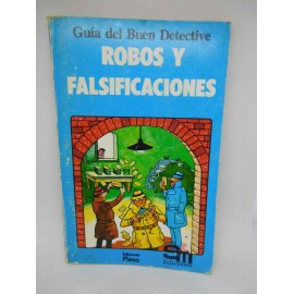Libro Robos y Falsificaciones. Plesa. SM. Guía del Buen Detective.