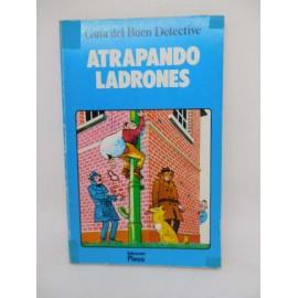 Libro Atrapando Ladrones. Plesa. SM. Guía del Buen Detective. Ref 1.