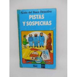 Libro Pistas y Sospechas. Plesa. SM. Guía del Buen Detective. Ref 1.