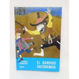 Libro El Bandido Saltodemata. Colección Mundo Mágico. Ed. Noguer.