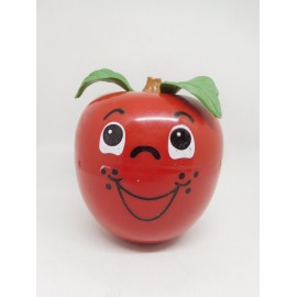 Manzana Tentetieso Fisher-Price Happy Apple. Año 1972.