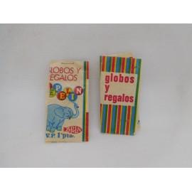 Dos sobres antiguos Globos y Regalos Zepelín. 1 pta. Años 70